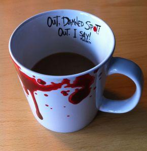 Out! Damned Sport mug