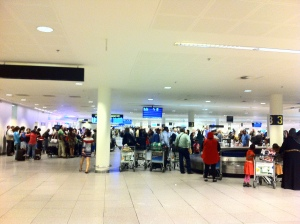 ...CPH on arrival. Why I travel with carry-on!