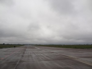 North runway