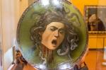 From the Uffizi Galleries: Medusa